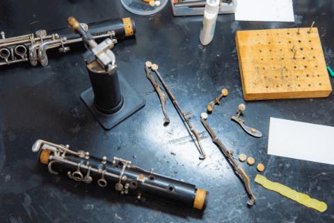 グレイス楽器は純正部品を使用してメンテナンスを行います(その理由)